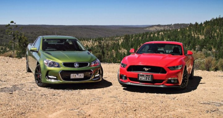 Mustang Vs Holden